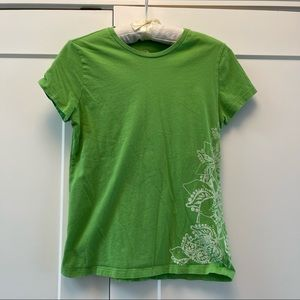 The North Face Green Graphics T-Shirt M